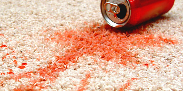 How To Get Soda Out Of Carpet