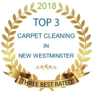 Best Carpet Cleaning New Westminster Award